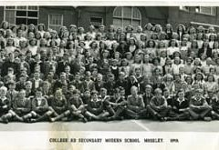 Photograph 1949 CRS Whole School