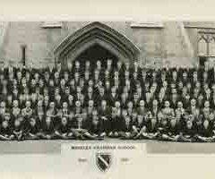Photograph 1957 MGS Whole School