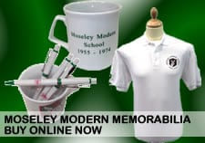 Moseley Modern Memorabilia to Buy