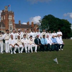 Moseleians V Attock cricket match