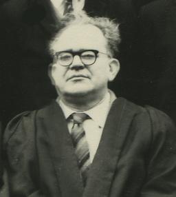 Rev Dolman at Moseley Grammar School in 1963