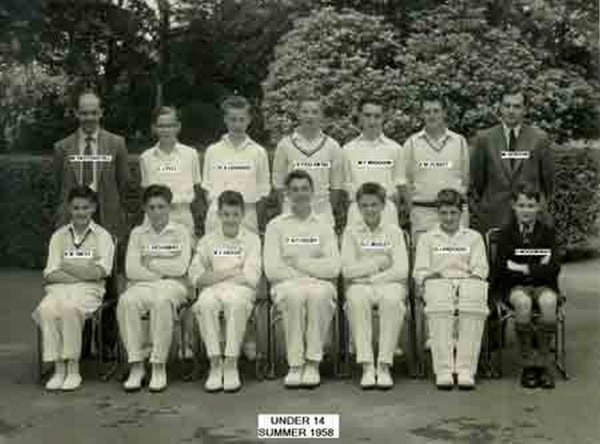 Cricket-under-14-summer-1958